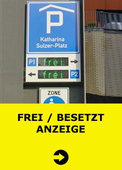 Frei / Besetzt Anzeige