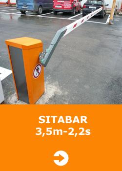Sitabar 3.5 m - 2.2 s