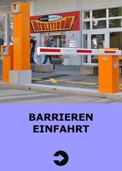 Barrieren-Einfahrt