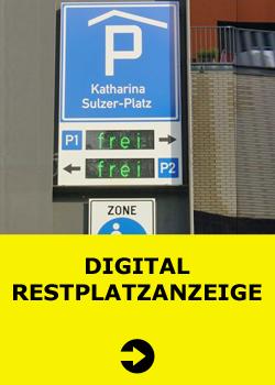 Digital Restplatzanzeige