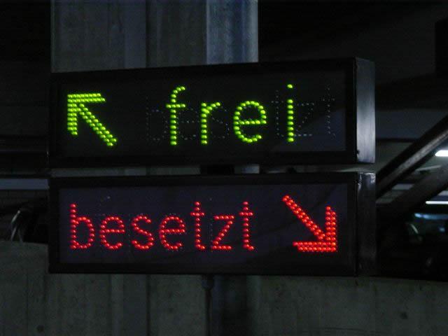 Frei-Besetzt Anzeige