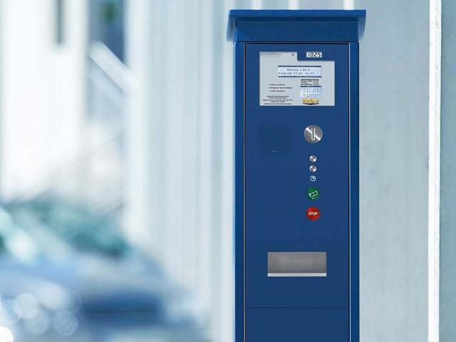 Hauptbild-Parkscheinautomaten