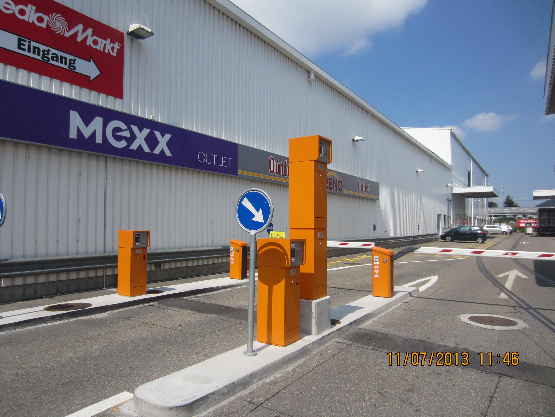 Barrieren Einfahrt